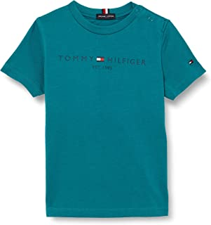 Tommy Hilfiger Essential Logo Tee S/S T-Shirt Bambino