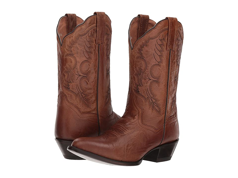 Dan Post Bev (Tan Leather) Cowboy Boots