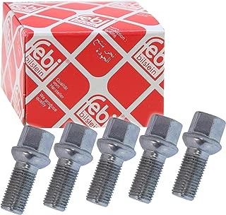 4x FEBI RADSCHRAUBEN M12 x 1,5 x 22 mm VERZINKT SW17 32031072