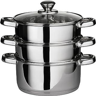 Premier Housewares - Set de cocción al Vapor (Tapa de