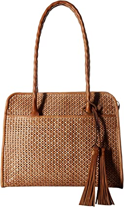 Patricia Nash - Large Paris Satchel Vegtan Woven