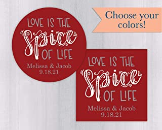 love is the spice of life wedding
