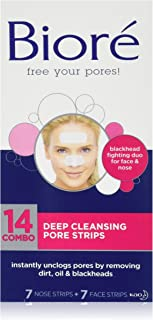 Bioré Deep Cleansing Pore Strips 14 Strips Combo Pack