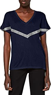 Only Onyrita S S/S Preppy Top Jrs Camiseta para Mujer