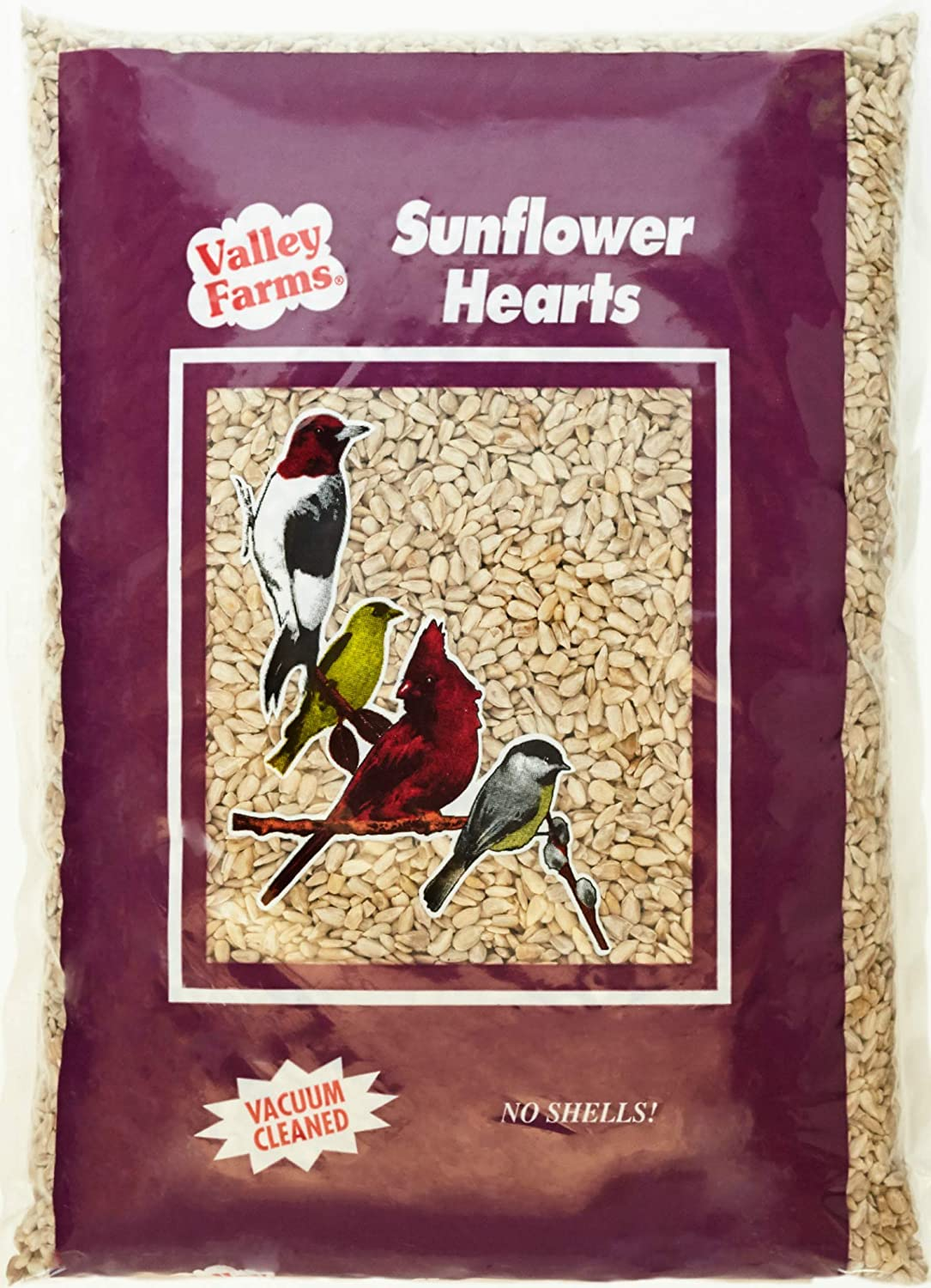 Valley Farms Sunflower Hearts Wild LBS Food Max Manufacturer OFFicial shop 59% OFF - 4 Bird