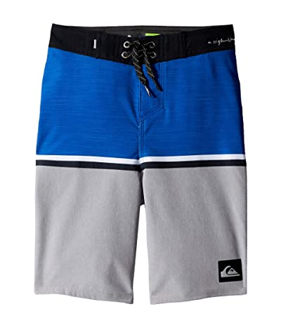 Quiksilver Kids Highline Division 18 Boardshorts (Big Kids) (Electric Royal) Boy