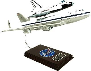 マスタークラフトコレクションNASA Boeing 747エアライナーW / Space Shuttle Piggy Back Plane飛行機モデルスケール: 1/ 144