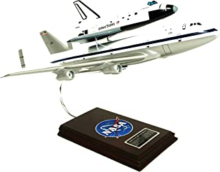 Mastercraft Collection Boeing NASA B747 Airliner w/ Space Shuttle Piggy Back Plane Airplane Model Scale:1/144