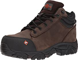 3b638e0fdc7 Merrell Work Phaserbound Mid Waterproof CT | Zappos.com