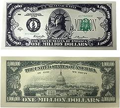 TheGag Million Dollar Bills- 100 Bills Very Realistic Looking Prop Money Copy -Educational Product-Play Money-Millones De Billetes Dinero Falso