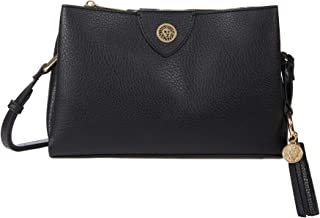 Anne Klein A-Hinge Pebble Crossbody
