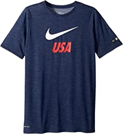 Nike Kids - U.S. Dri-FIT Soccer T-Shirt (Little Kids/Big Kids)