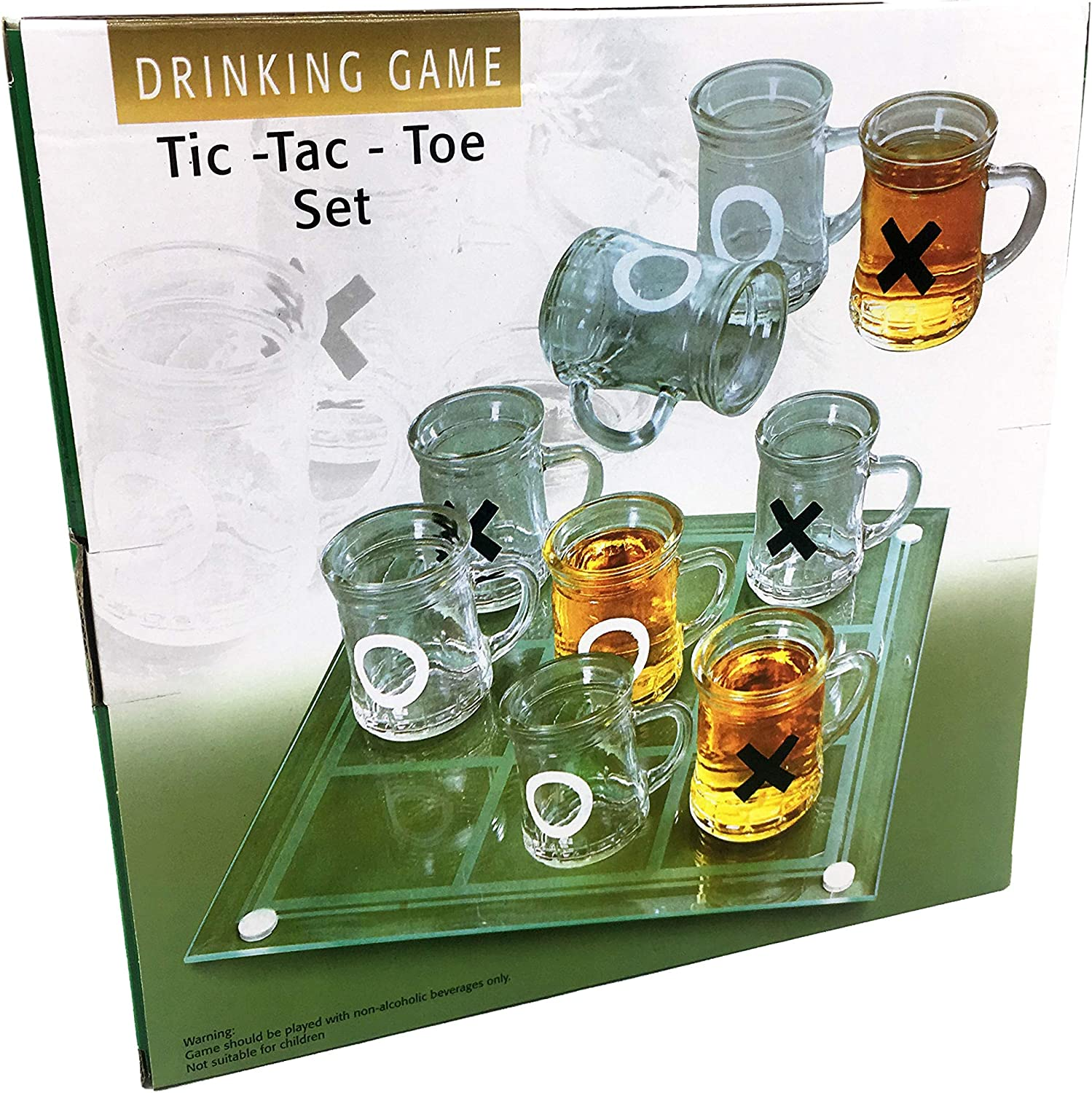 Silfrae Party Drinking Game Shot Glass Party Game