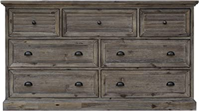 Sunset Trading Solstice Grey Dresser, Weathered gray and brown