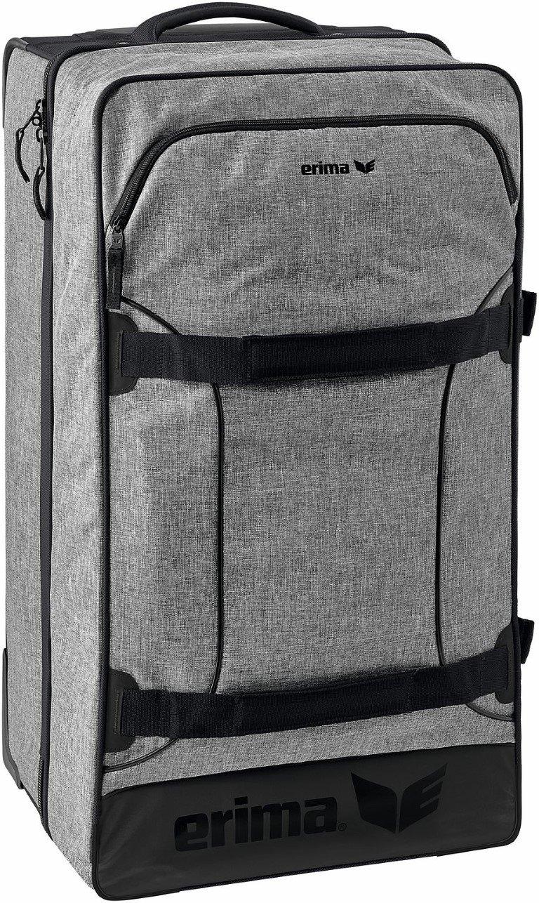 ERIMA Trolley Travel Trolley, grau melange, L, 7231801