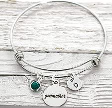 Godmother Bracelet for Women - Godmother Proposal Gift From Godchild - Personalized