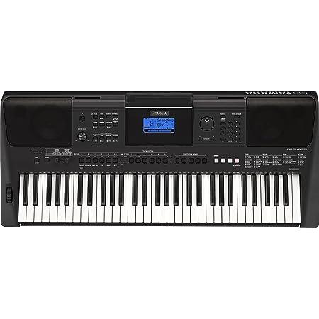 Yamaha PSR-E453 - Teclado electrónico portátil con 61 teclas, color negro