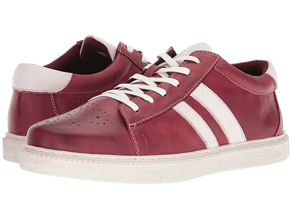 Kenneth Cole Reaction Madox Sneaker B (Red Nubuck) Men