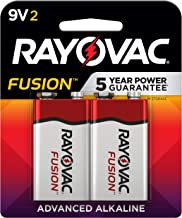 Best Rayovac Fusion 9V Batteries, Premium Alkaline 9V Battery (2 Count) Review