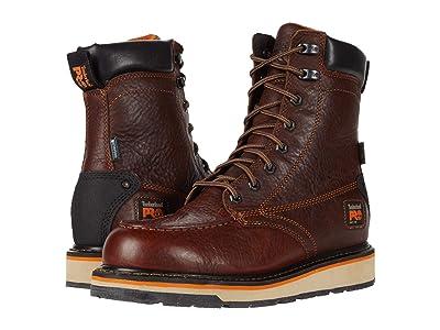 Timberland PRO Gridworks 8 Alloy Toe Waterproof (Brown) Men