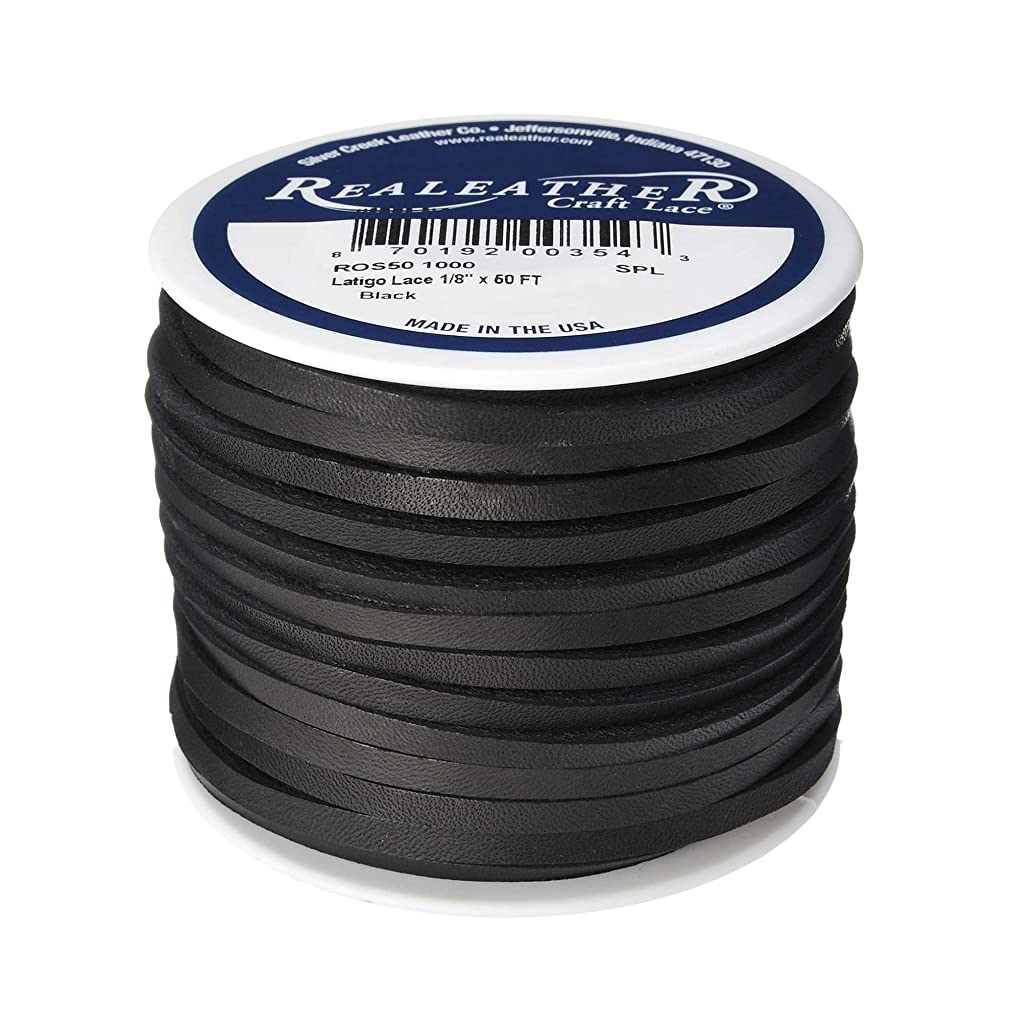 Realeather ROS50 1000 Latigo Lace Spool, 1/8