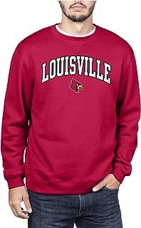 NCAA Mens Team Color Crewneck Sweatshirt