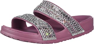 Skechers CALI BREEZE 2.0 - Rhinestone Molded Double Band Sandal with Luxe Foam
