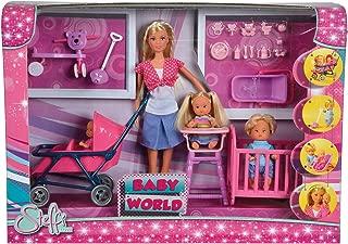 Simba 105736350Toys - Steffi Love Baby World Playset, Multicolor