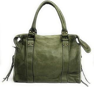 mod/èle BRISBANE OH MY BAG Sac /à main Cuir port/é main bandouli/ère et de travers Femmes en v/éritable cuir fabriqu/é en Italie