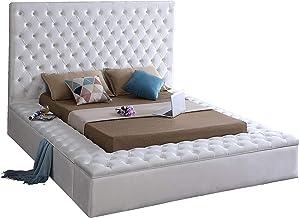 Amazon Com Upholstered Storage Bed