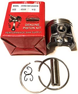 Lil Red Barn Echo CS510, CS520, CS530 Chainsaw Piston Kit, 45MM, Replaces Echo Part # P021006153 Two Day Standard Shipping to All 50 States