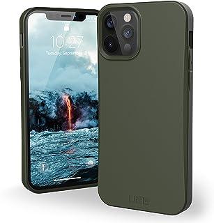 Urban Armor Gear Outback Bio Hülle Apple iPhone 12 / iPhone 12 Pro (6,1') Schutzhülle (Biologisch abbaubare Materialien, Wireless Charging kompatibel, Sturzfeste Handyhülle, Ultra Slim) Olive