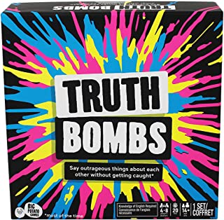 Kroeger Inc. Canada Truth Bombs: A Party Game About Superheroes, Sandwiches & Secrets