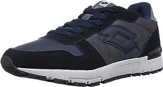 Lotto Men's Runner NVY Dk/Asphalt Track and Field Shoes-9 UK/India (43 EU) (8907181770536)