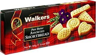 Walkers Shortbread Assorted Shortbread, 5.6-Ounce (Pack of 4) Traditional & Simple Pure Butter Shortbread Cookies from the Scottish Highlands, No Artificial Flavors