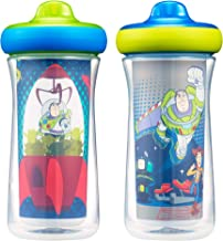 The First Years Disney Toy Story Insulated Hard Spout Sippy Cups, 9 Ounce, Blue/Green, one size