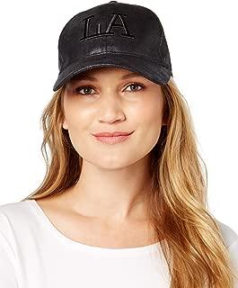August Hats Company Womens Appliqué Floppy Hat Black, One Size