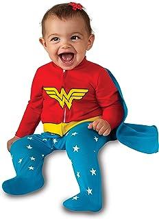 Rubie's Costume Baby Girl's DC Comics Superhero Style Baby Wonder Woman Costume