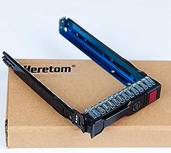 Heretom Soporte 2,5 Pulgada Bandeja de Disco Duro Caddie 651687-001 651699-001 para HP Proliant G8 Gen8 G9 Gen9 DL380p DL360p ML310e ML350p DL160 DL385p ML350 DL380e 2,5