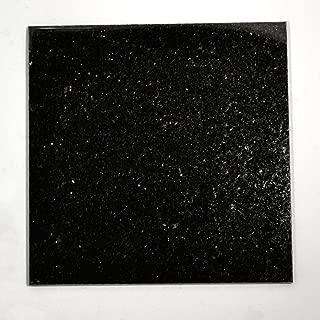 12x12 Black Galaxy Granite Kitchen Bathroom Floor Tile Backsplash Patio T-111