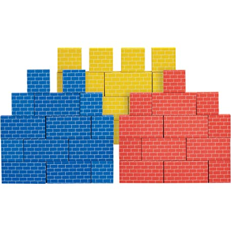 Melissa /& Doug Deluxe Jumbo Cardboard Blocks,24 Pieces E-Commerce Packaging, Great Gift for Girls and Boys /– Best for 2, 3, and 4 Year Olds