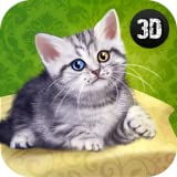 Protect My Cute House Animal Kitten: Virtual House Pet Game For Boys And Girls