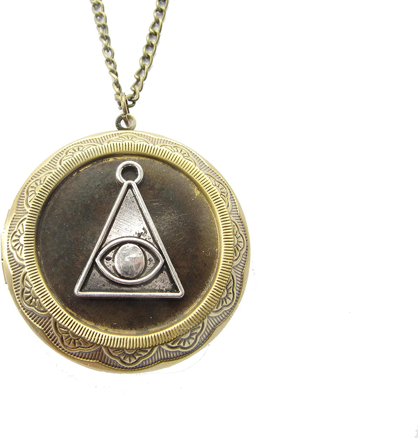 Hex Protection Large discharge sale Locket Necklace Al Curse Removal Courier shipping free shipping
