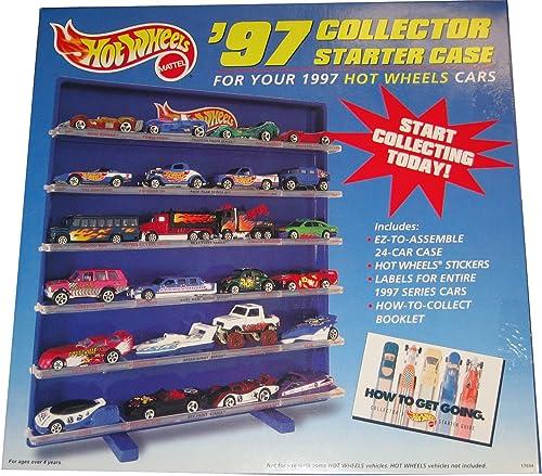 Hot Wheels '97 llector Starter Case for 1997 t Wheels Cars