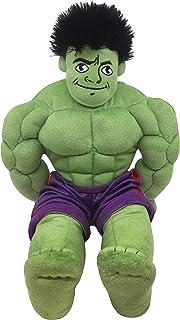 Jay Franco Marvel Super Hero Adventures Toddler Hulk Plush Stuffed Pillow Buddy - Super Soft Polyester Microfiber, 18 inch...