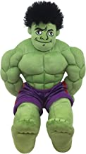 Jay Franco Marvel Super Hero Adventures Toddler Hulk Plush Stuffed Pillow Buddy - Super Soft Polyester Microfiber, 18 inch (Official Marvel Product)