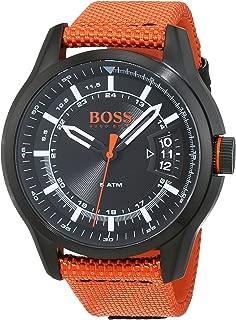 Hugo Boss Orange Hong Kong Mens Quartz Analogue Classic Orange Rubber Strap 1550001