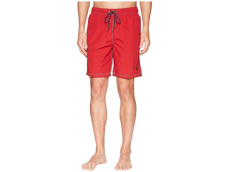 Nautica New Anchor Swim Trunk (Nautica Red) Men