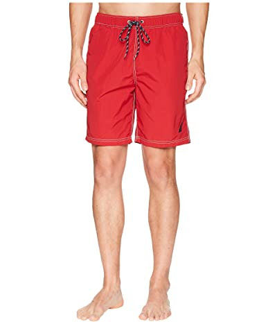 Nautica New Anchor Swim Trunk (Nautica Red) Men