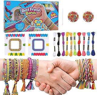 tiopeia Kit Bracelet d'Amitié Bresilien Colorées pour la Fabrication de Bracelet Filles Bijoux Bracelet Bricolage Craft Po...